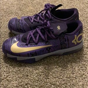 Nike KD Black History Month shoes size 5Y